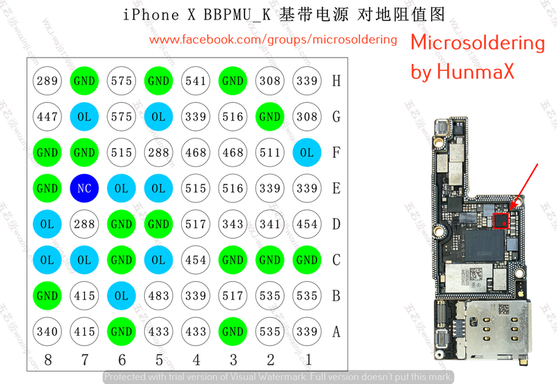 iPhone X BBPMU (Intel)