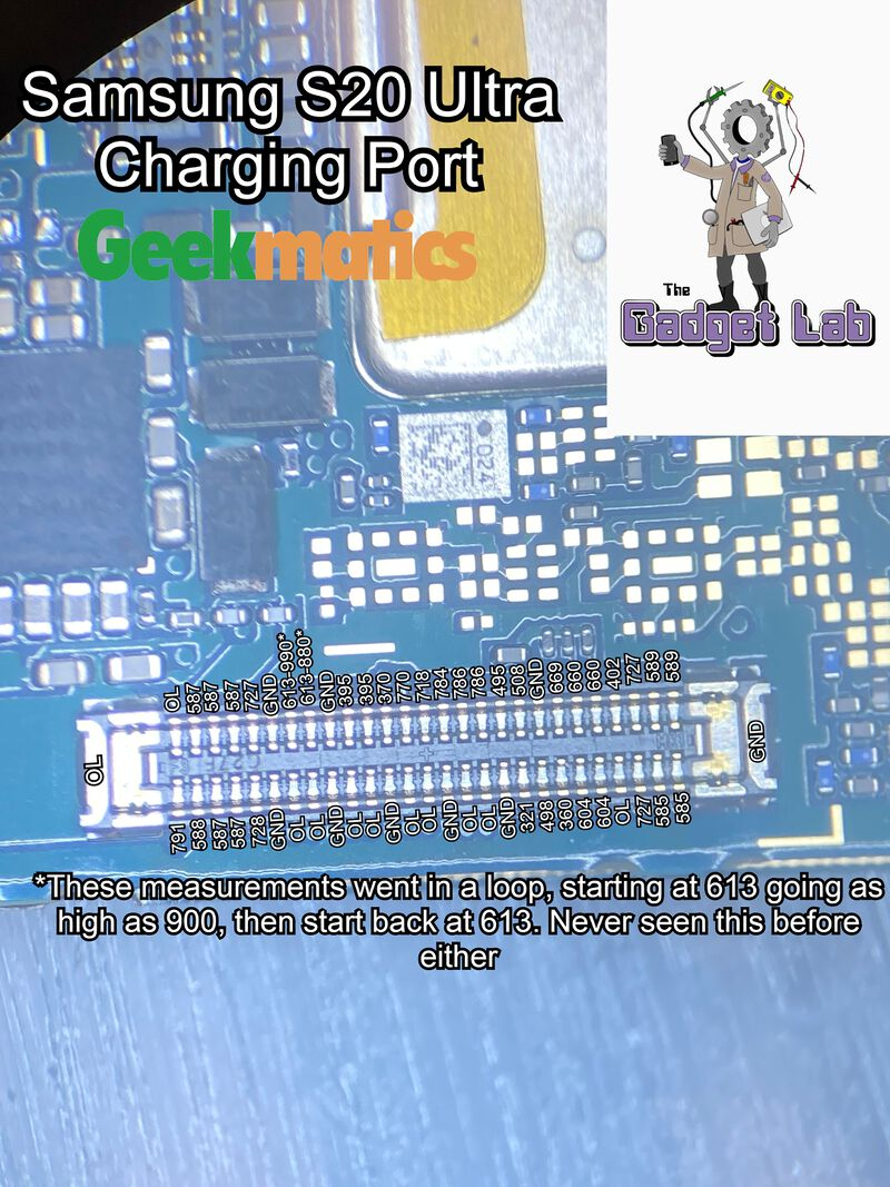 Samsung S20 Ultra Charging Port Edited